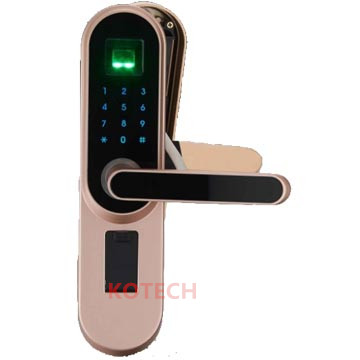 DHL Free Shipping Fingerprint Door Lock Biometric locks WA100 Apartment LOCK OFFICE LOCK fingerprint password key lock