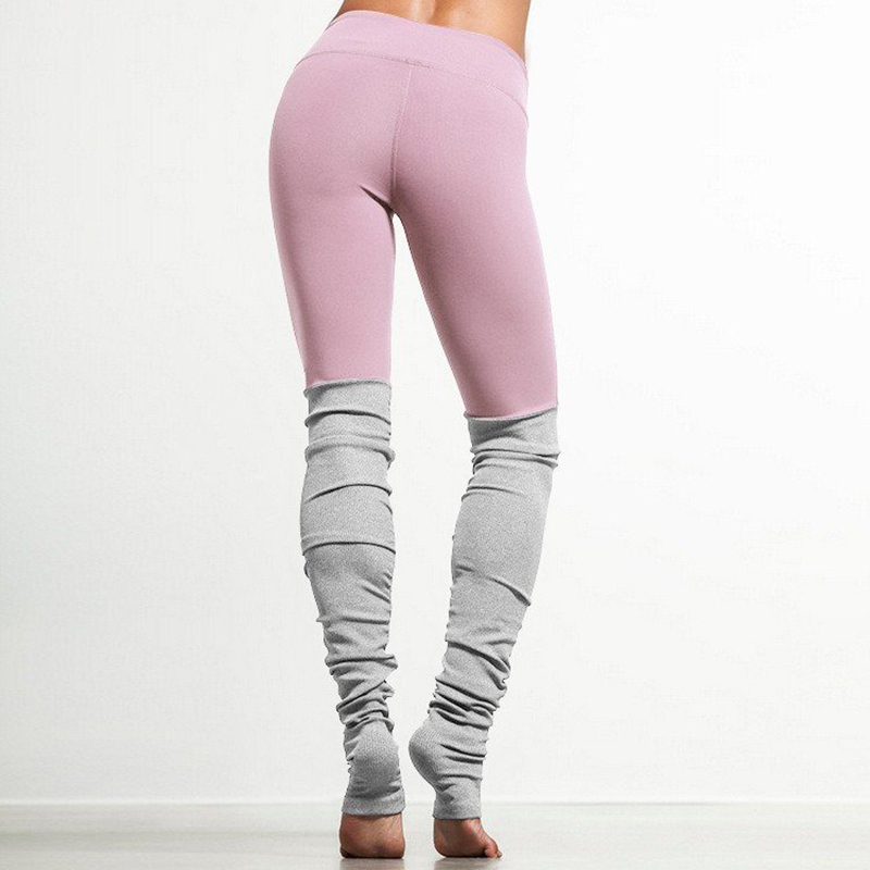 5f2683a5a44d3 Lucylizz Pink Patchwork Yoga Pants Fitness Skinny Running Tights Yoga  Leggings-in Yoga Pants from Sports & Entertainment on Aliexpress.com |  Alibaba Group