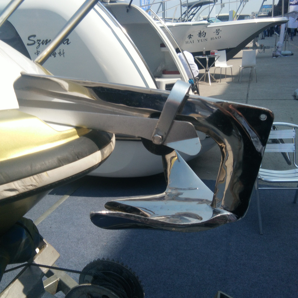 2X  Stainless Steel Boat Bow Anchor Roller Self Launching Bow Rollers Heavy Duty