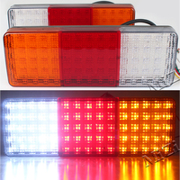 12V LED Truck Tail Light Lamp 70Led Stop Trailer Light Caravan Tail Lights For Trailers Quality