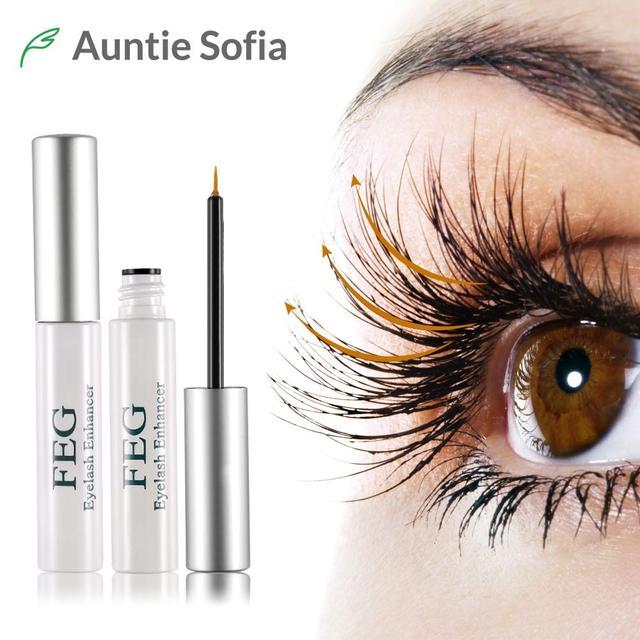 Feg Eyelash Growth Enhancer Natural Herbal Eye Lashes Mascara
