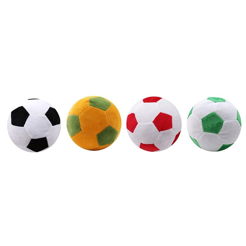 Hot Sale Soccer Ball Pillow Fluffy Stuffed Plush Throw