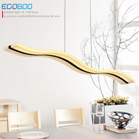2016 New Arrival LED Pendant Light Modern Design Style Acrylic Material Line Indoor Restaurant Pendant Light