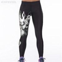 Legging Hot Sale 3D Fitness Leggings Women The Elephant God Printed Workout Gothic Leggins Capris Slim