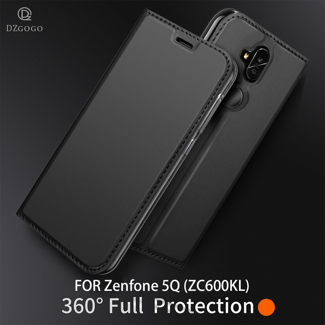 best website 5be57 a9fc9 US $8.99 30% OFF|DZGOGO For ASUS Zenfone 5Q ( ZC600KL) Case leather  Adsorption Wallet Case For ASUS Zenfone 5Q Cover Full Protective Flip  Case-in ...