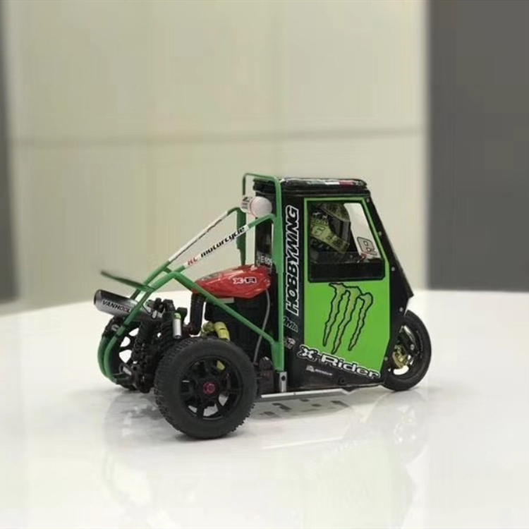 X-Rider 2.4G 1/8 Piaggio Ape 1:8 2WD Kids Battery Powered Drift Cars RTR Version