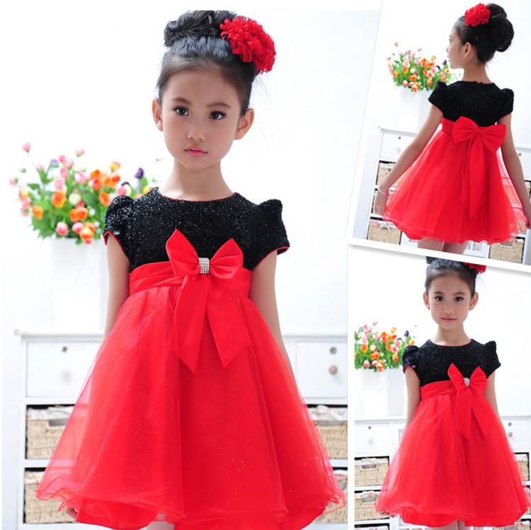 Flower Girl Summer Dresses For Party And Wedding Kids Formal Lace