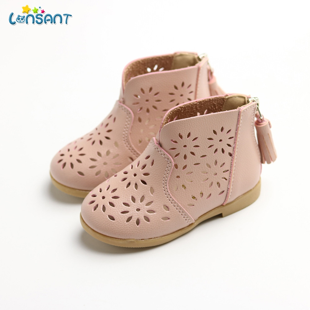 LONSANT Shoes Baby Flower Boot-Girl Toddler Breathable Princess New-Fashion Summer Children