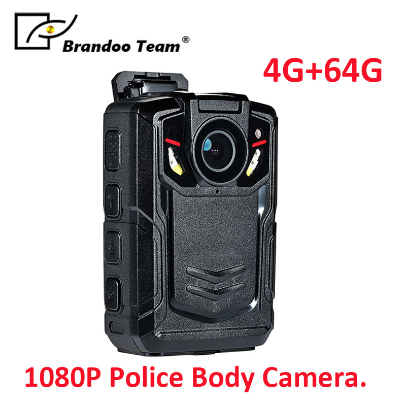64GB 4G Ambarella A12 Waterproof Super HD 1080P Police Body Worn Camera free shipping ambarella a2 1080p 30fps hd police camera police body worn camera action body police camera