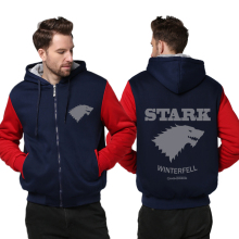 Game of Thrones Direwolf Ghost Hoodie
