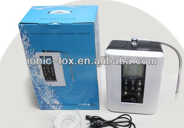 Alkaline Water ionizer better electrodes stable ORP & PH value Alkaline water with build in Filter OH-806-3W white color inner carbon filter for alkaline water ionizer machine oh 806