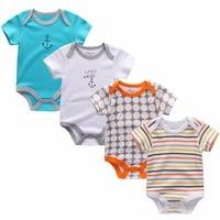2016 Summer 100 Cotton Short Sleeve Superman Baby Rompers Newborn Infant Clothing Toddler Boy Jumpsuits Bebe