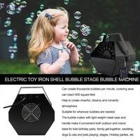 Mini Portable Auto Bubble Machine with Remote Control Electric Bubble Machine for DJ /Bar /Party /Show /Stage/ Wedding