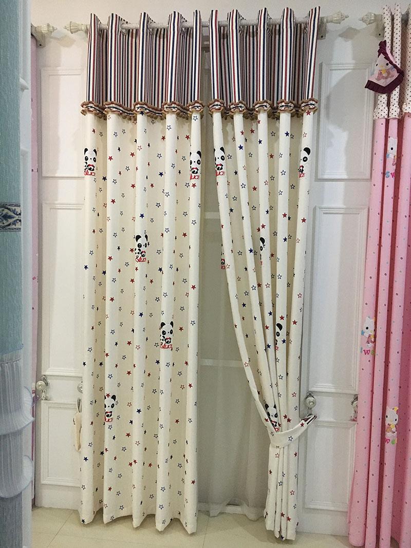 Vorhänge Blau-kaufen Billigvorhänge Blau Partien Aus ... Vorhange Wohnzimmer Blau