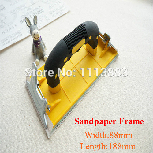 Quality Carpenter 39 s Sandpaper Frame Sanding Paper Frames Grinding Tools Polished Tools For Walls Woods in Abrasive Tools from Tools