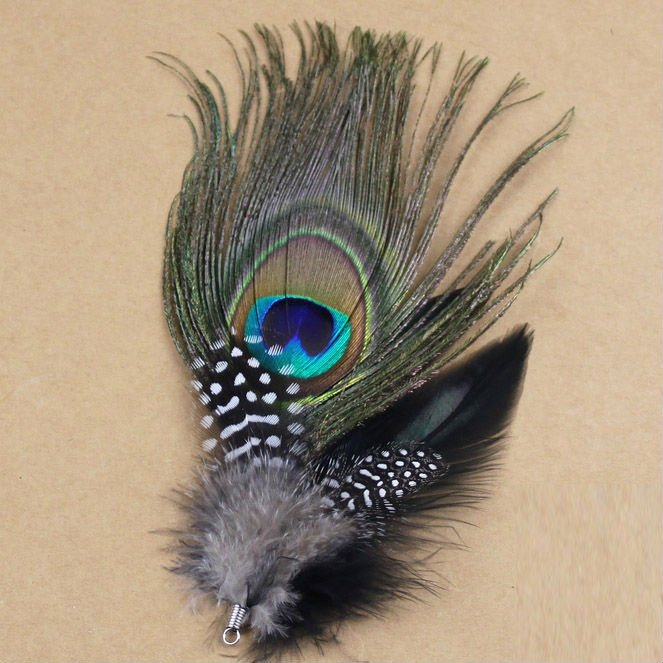 Hot sale!12pcs/Lot 19X6cm Green Peacock Feather DIY Jewelry Accessories,craft Feathers for jewellery making , fascinators