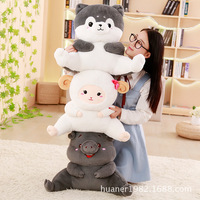 Cartoon Extra Large Pig Pig Panda bear Cushion Office Waist Lumbar Pad Chair Waist Pillow Back Bed Cushion