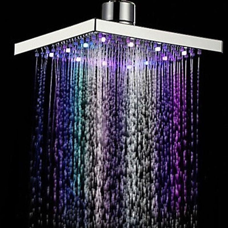 Hot Sale Bathroom Rainfall Shower Head Water Saving ABS Rain Shower ...