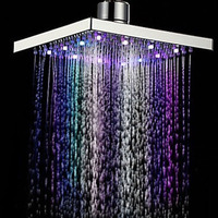 Bathroom Rainfall Shower Head Water Saving ABS Rain Shower High Pressure Square Spray shower holder Sanitary Ware Suite AA