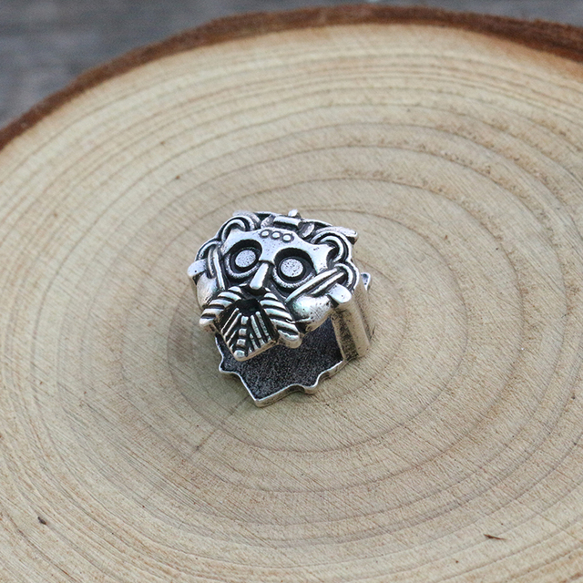 1pcs viking slavic bead norse Bracelet accessories Inner diameter 6x12mm