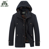 Afs Jeep 2017 Mens Jacket Coat Spring Summer Mens Military Jackets Plus Size M 3XL Windbreaker