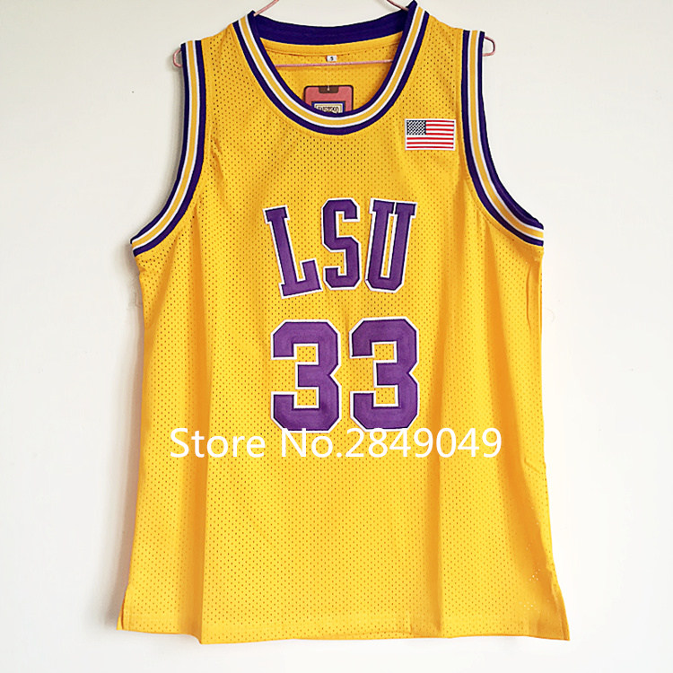 28e5e90fd7a ... stitched ncaa jersey  white college basketball nike jersey shaquille  oneal 33 lsu tigers college shaquille oneal shaq basketball jersey