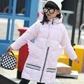 2016 НОВЫЙ горячий прибытие девушка натуральный мех хлопок jakcet пальто зимы детей и пиджаки пальто дети зимняя куртка Новый Высокое качество