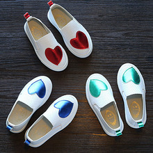 New Kids Shoes For Girl ashion Comfortable Classical Sneake PU child casual shoe slip-on Children School Casual Shoe 2019