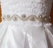 2014 stunning Handmade organza floral Crystal Beaded Bridal Wedding Dress bridal Sashes Belts Accessories jy004