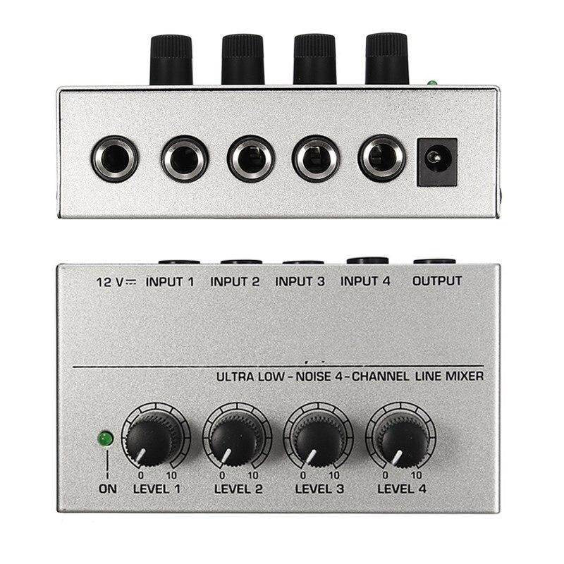 NUEVA MX400 Ultra-compacto de Bajo Ruido de Línea Mono Mezclador De Audio con Ad
