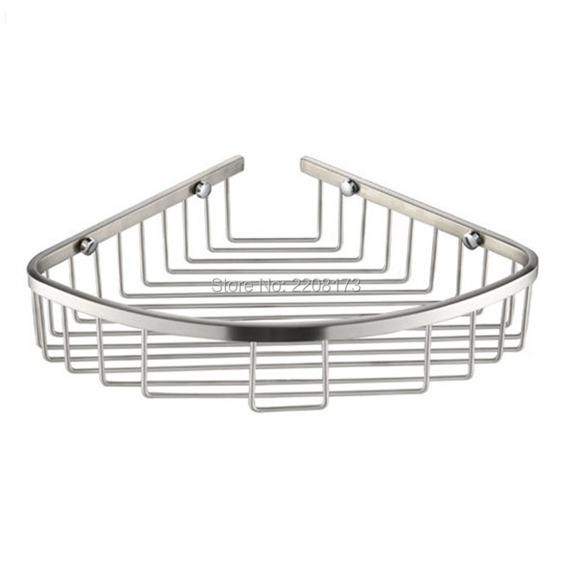 Promotion Luxury Stainless Steel Brushed Nickel Hanging Shower Caddy ...