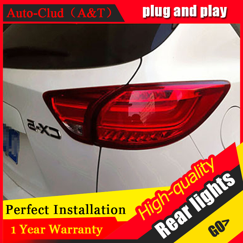 AUTO.PRO for Mazda CX-5 LED taillights Mazda CX-5 rear lights 2013-2015 led rear trunk Fog lamp+signal+brake+reverse car styling car styling tail lights for toyota highlander 2015 led tail lamp rear trunk lamp cover drl signal brake reverse