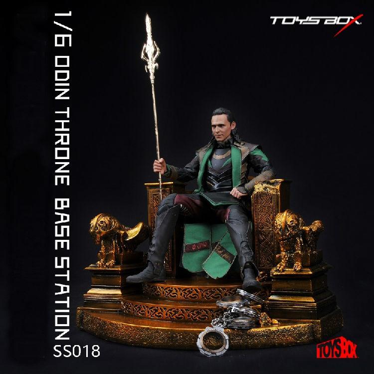 Новый 1:6 Мстители Тор один Локи Асгард трон герои фигурку коллекционные смолы сплав 4 кг сцены модель игрушки куклы дети подарки