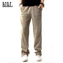 LILL | Health Linen Men Casual Pants Man