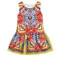 Meninas Roupas de Verão Do Bebê Meninas Vestido de Festa Da Princesa Crianças Dos Miúdos Da Criança Vestuário