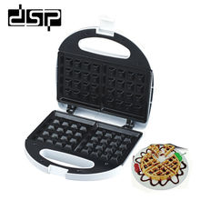 цена на DSP KC1058 Waffle Makers Cake Muffin Machine Non-stick Electric Cooking Baking Pan Dessert Waffle Maker Machine