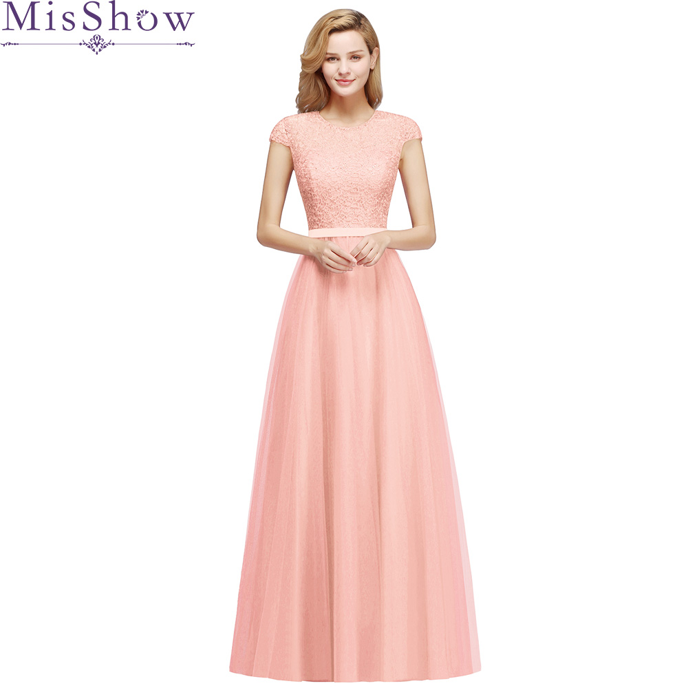 Elegant A line Pink Long   Evening     Dress   2019 Robe De Soiree Longue Formal Party   Evening   Gown Appliques Prom   Dress   With Sash