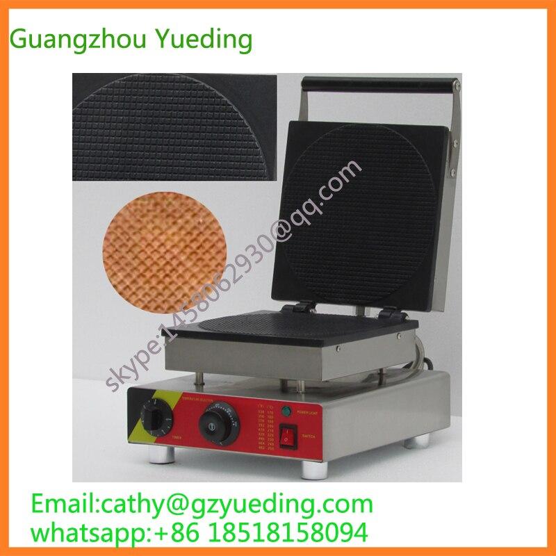 Gaufrier Commercial de sirop de stroopwafels CE gaufrier d'acier inoxydable de stroopwafel/machine hollandaise de stroopwafels