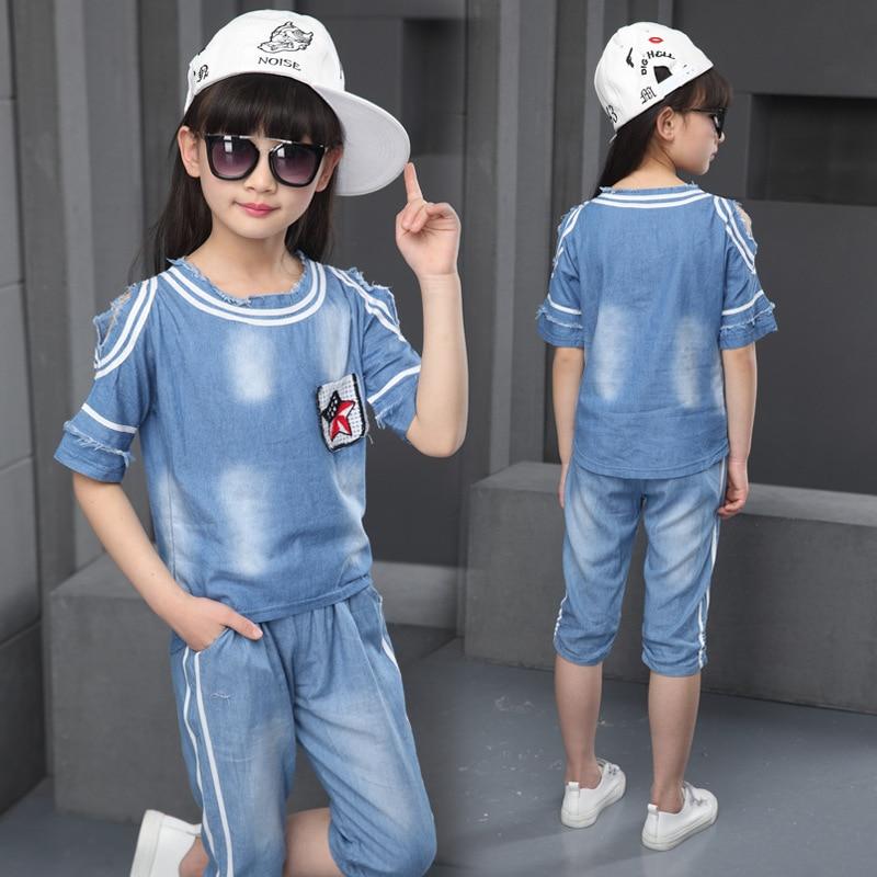 Otroška poletna modna izbira za nova velika deviška dekleta - Otroška oblačila