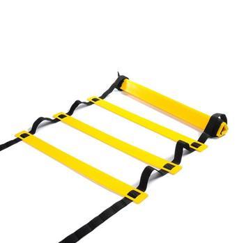 Wholesale 10pcs/lot 5 Meter 10 Rung Soccer Speed Football Fitness Feet Training Agility Ladder