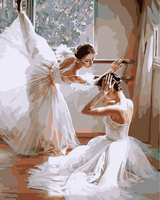 Frameless Picture On Wall Acrylic Painting By Numbers Coloring By Numbers Gift Coloring By Numbers Dancer