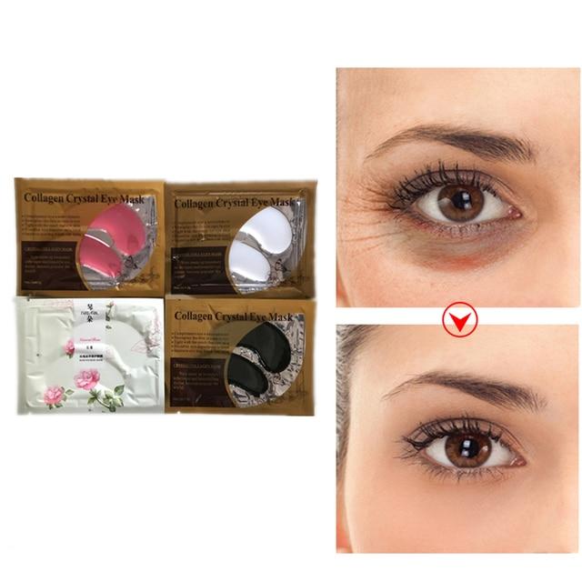 2Pcs/Bag Anti Winkles Eye Patches Anti-Puffiness Remove Dark Circle Anti-Aging Whitening Eyes Masks Firming Eyelid Drooping Creams