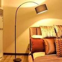 european floor lamp modern floor lamp chrome LED Nordic remote control creative lighting standing lamps for living room