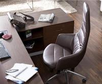 Офисной мебели. Исполнительный стулья. Кожа Высокая спинка офисного chairs.06