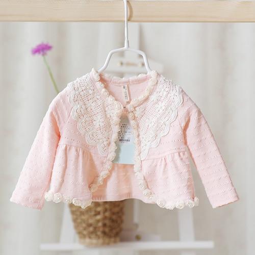 2016 лето Новый стиль кружева пальто девушки детские дети девочки симпатичные мода прекрасная жемчужина пальто