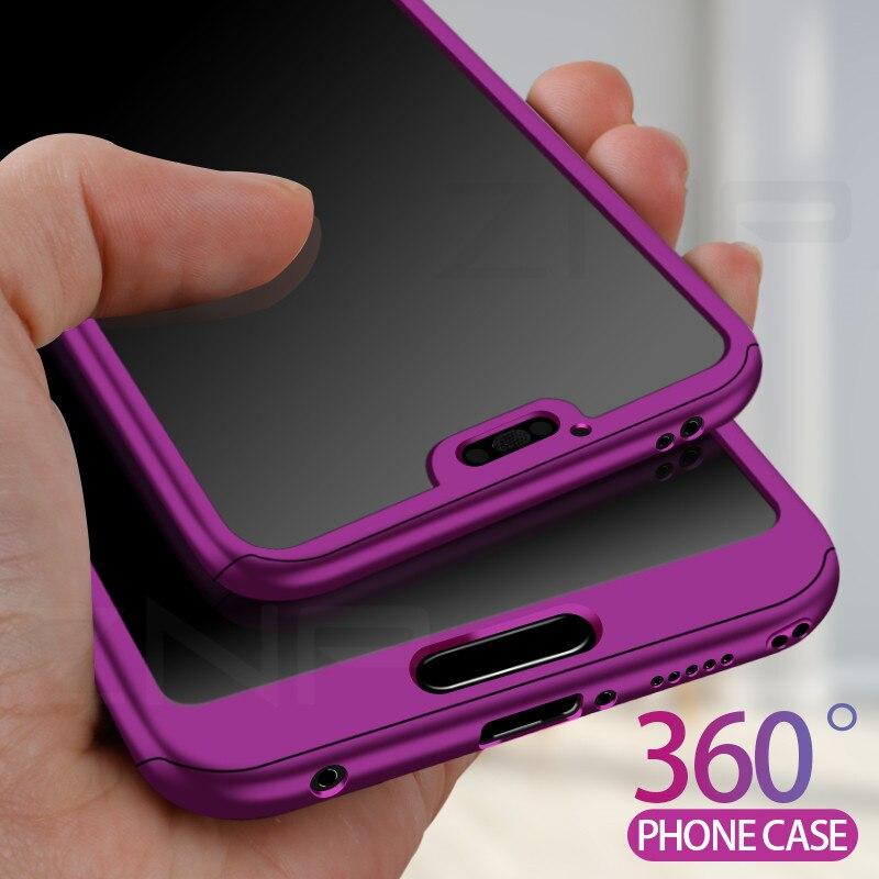 ZNP Роскошный 360 градусов полный чехол для телефона Huawei Honor 9 Lite 10 противоударный чехол для Honor 10 9 Lite защитный жесткий чехол