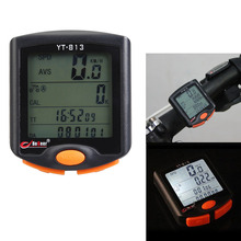 Bike Bicycle Computer LCD Odometer Speedometer Waterproof Bicycle Cycling Stopwatch Bicycle Oil/Maintenance Reminder