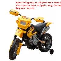 Mini Bike Moto éLectrique Pour Enfants Jaune Ride On Cars Children Electric Motorcycle Kids Learning Education Outdoor Toy Gifts