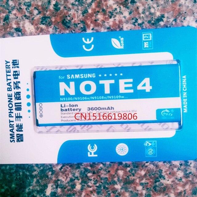 New 3600mAh EB-BN916BBC Battery for Samsung Galaxy Note 4 N9100 SM-N910H SM-N910C SM-N910U SM-N910F SM-N910FQ SCL24 SC-01G etc