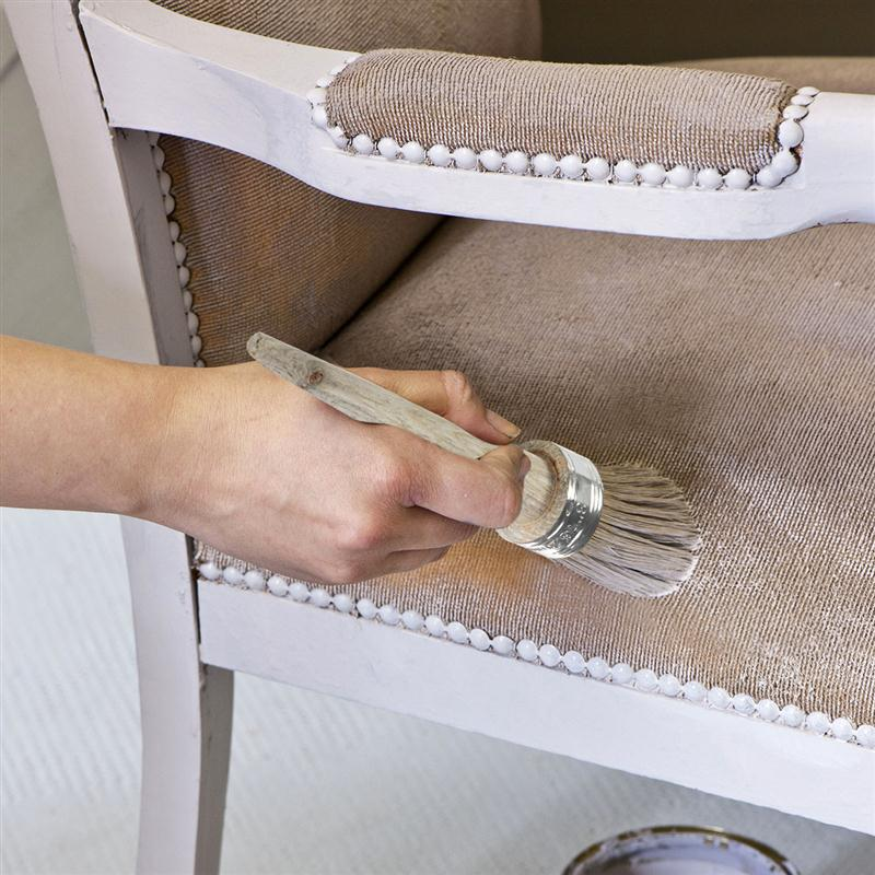Lujoso Encerar Los Muebles Pintura Tiza Imágenes - Ideas de Muebles ...